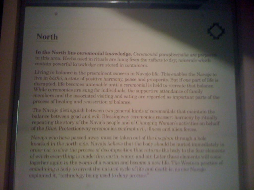Meaning of North Direction in Navajo Culture